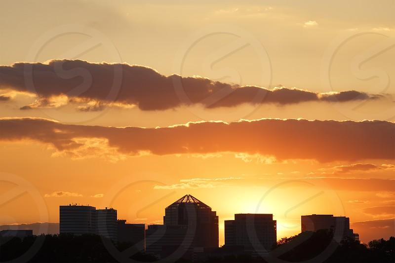Sunset - Northern VA Skyline photo