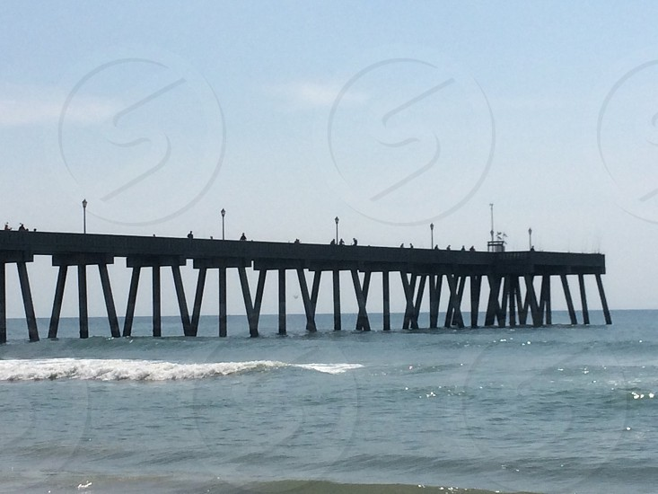 Pier fishing  photo