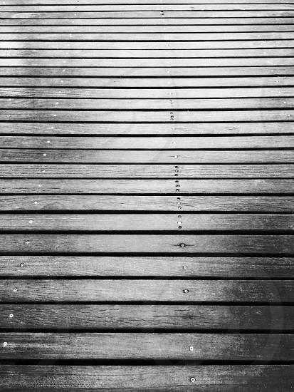 Deck noir photo