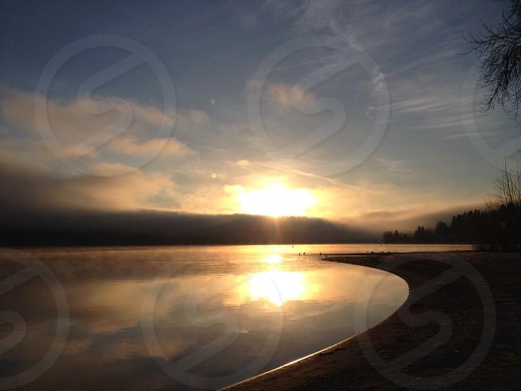 sunrise beauty nature photo