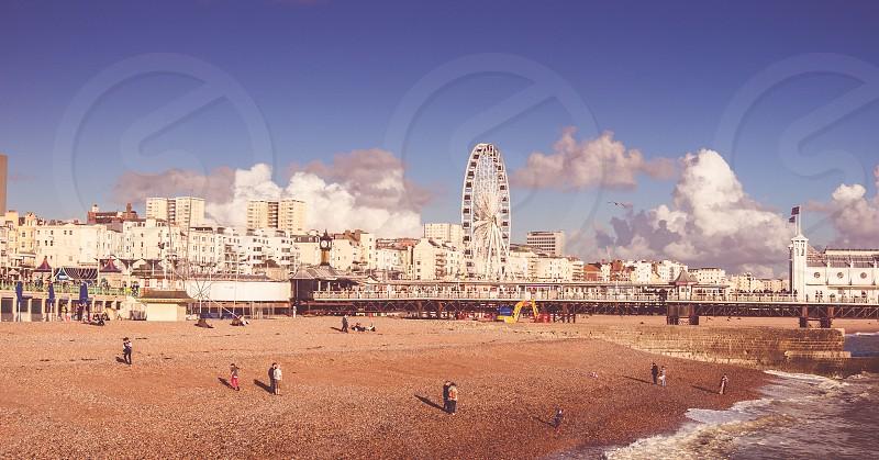 UK Brighton - where the magic happens photo
