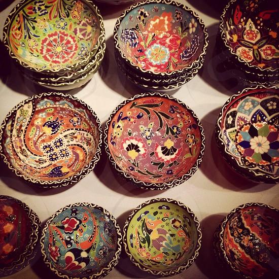 Handmade crafts at Edinburgh Christmas Market photo