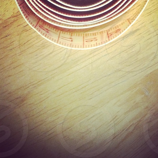 Tape measure.   photo