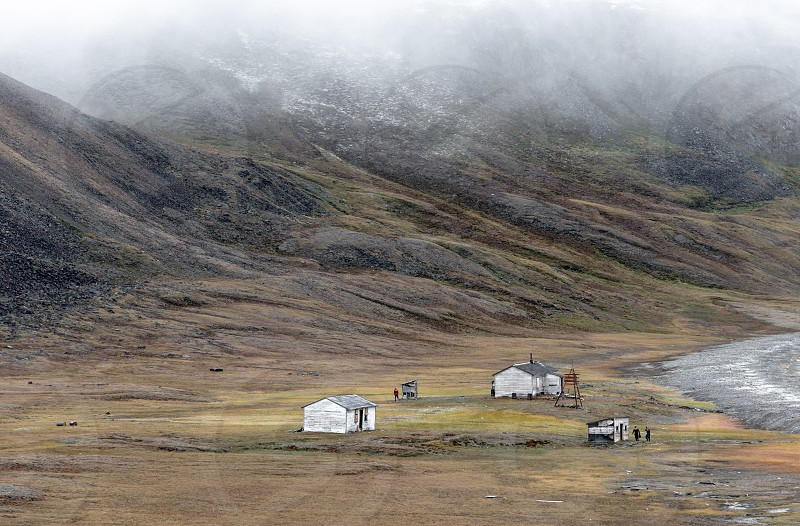 Abandoned RCMP outpost in the Canadian Arctic photo