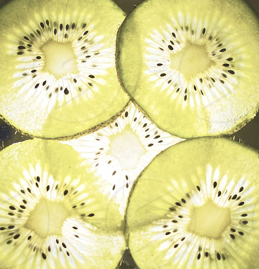 close up composition of kiwi photo