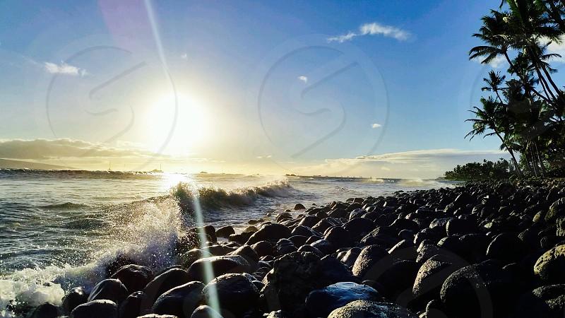 breakwater view photo