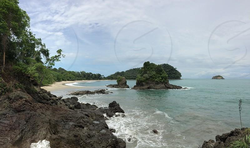 Costa Rica beach. photo