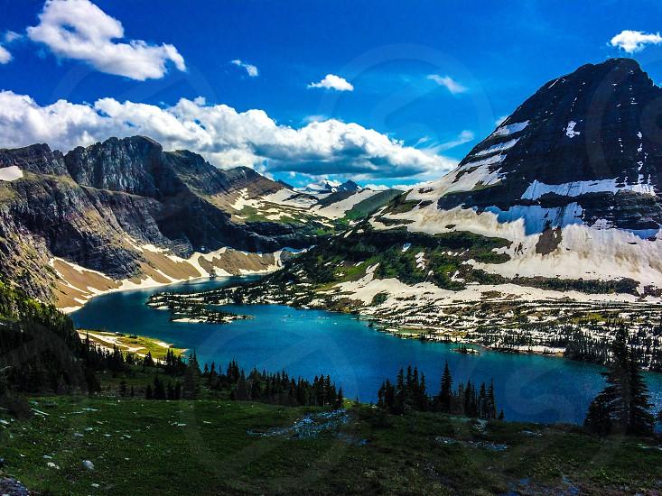 Glacier park Montana  photo