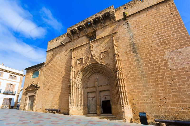 Javea Xabia Sant Bertomeu church in Alicante Spain photo