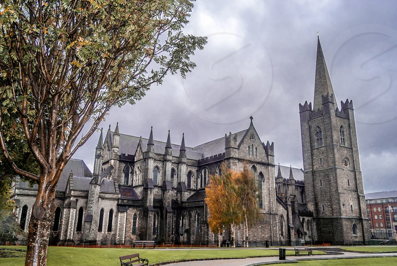 St Patrick's Cathedral Dublin Ireland. photo