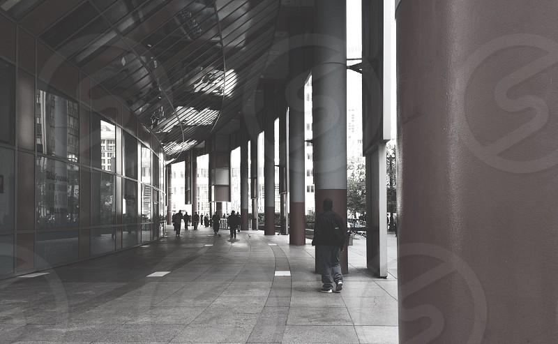 white concrete post photo