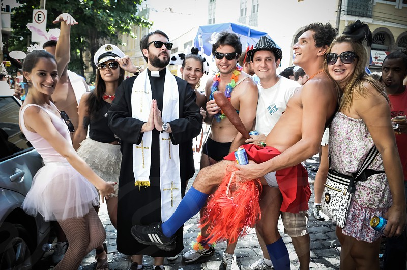 RIO CARNAVAL SUVACO DO CRISTO COLORS HAPPINESS PARTY STREET PARTY COSTUMES  photo