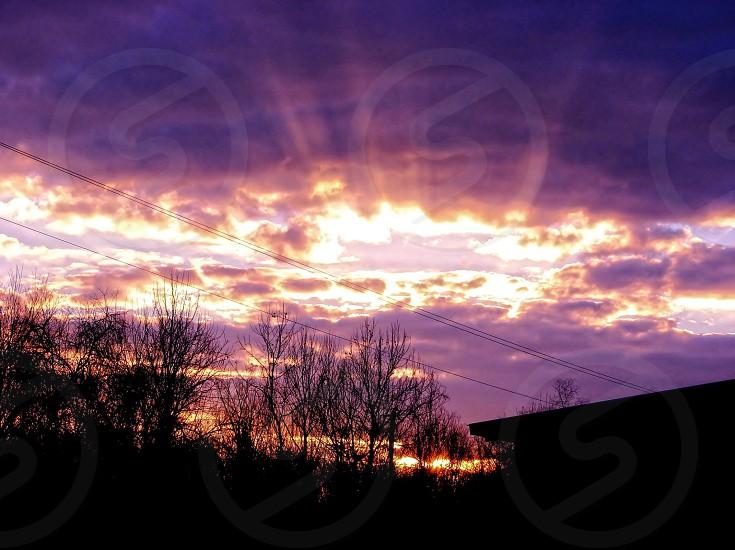 Sunset in Louisiana photo