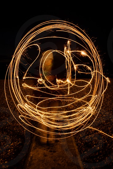 2015 NYE new year's sparklers sparkler long exposure light painting light writing new year's eve holiday celebrate fireworks photo