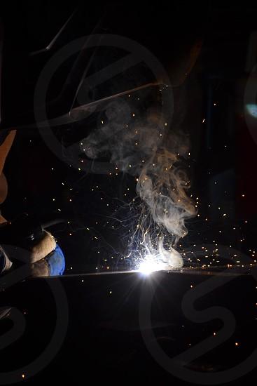 Labor welding lifestyle  photo