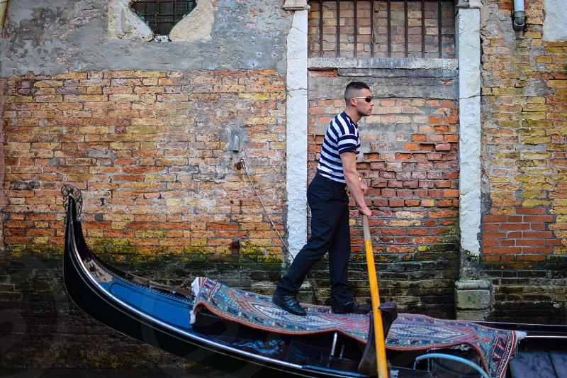 Venice Stride By  photo
