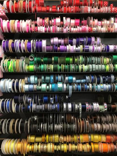 Colour ribbons photo