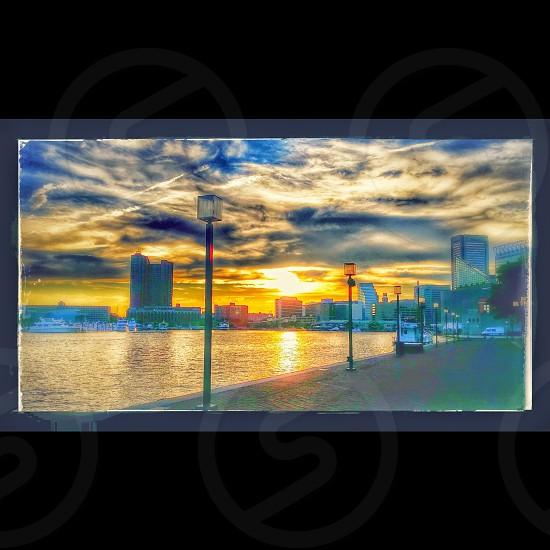 Sundowning in the City photo