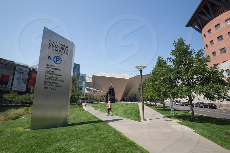 Denver Art Museum Denver Colorado. photo