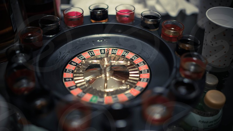red black and green roulette photo