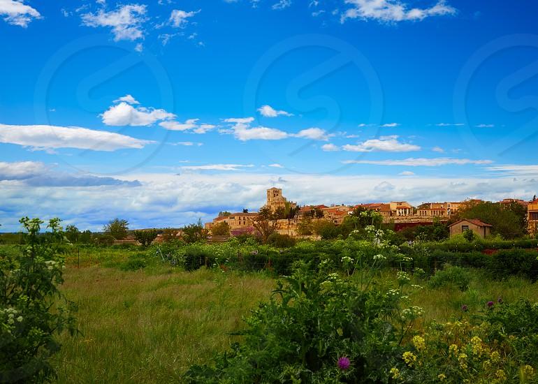 Zamora skyline in Spain by the via de la Plata pilgrims way photo