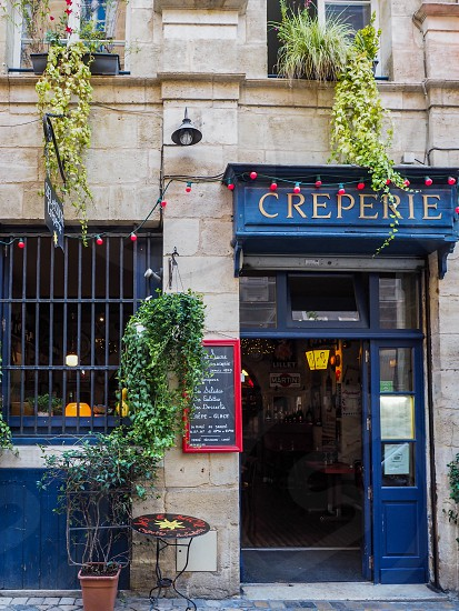Creperie Open for Business in Bordeaux photo
