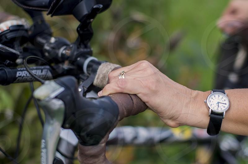 bicycle bike handle photo