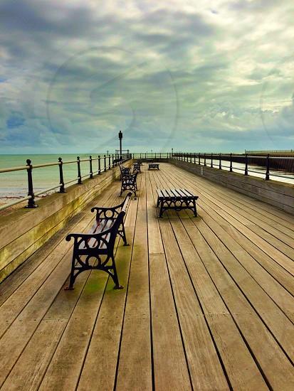 Along the pier at Littlehampton photo