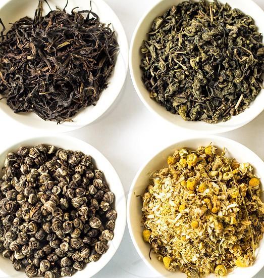 Carefully picked Chinese organic loose tea photo