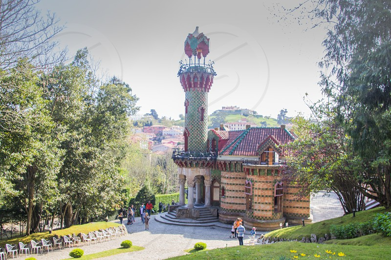 El Capricho by Gaudi in Comillas Spain photo