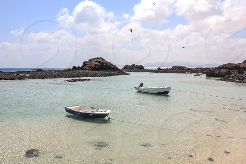 boats beach. photo