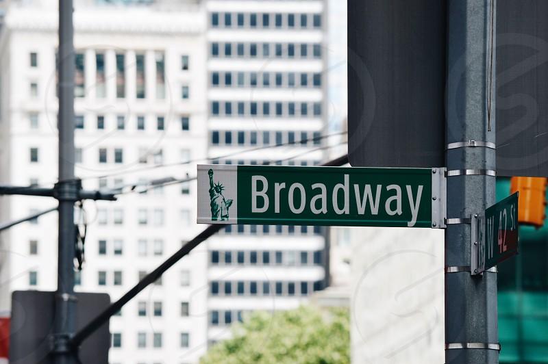 Broadway Sign photo