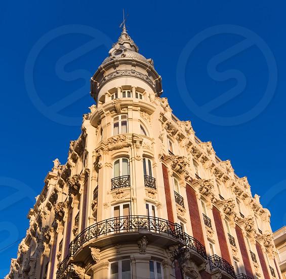 Cartagena the Grand Gran Hotel Art Noveau architecture in Murcia Spain photo