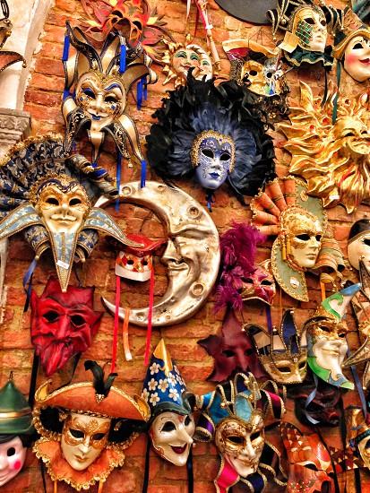 Traditional Venetian Masks photo