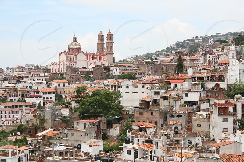 City View Of Taxco Mexico By Katie Haller Photo Stock Snapwire