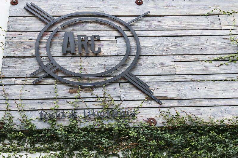Exterior sign at ARC photo