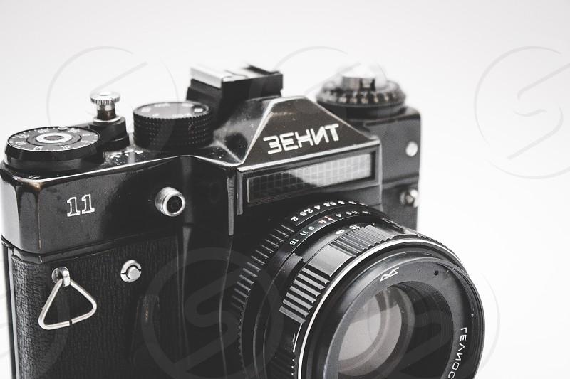 Vintage Zenith film camera.  photo