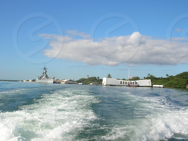 Pearl Harbour memorial  photo