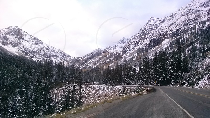 Snowy Mountain-North Cascades Highway photo