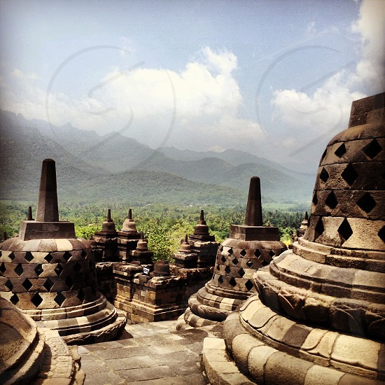 The magnificent Borobudur Temple photo