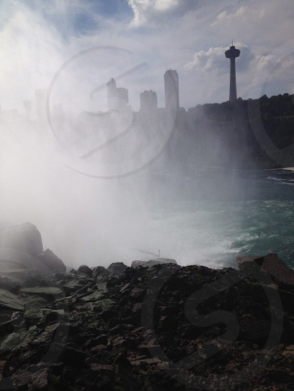 Mystified at Niagara Falls photo