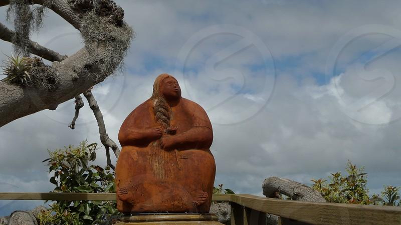 Hawaii Island Adventure Statue photo