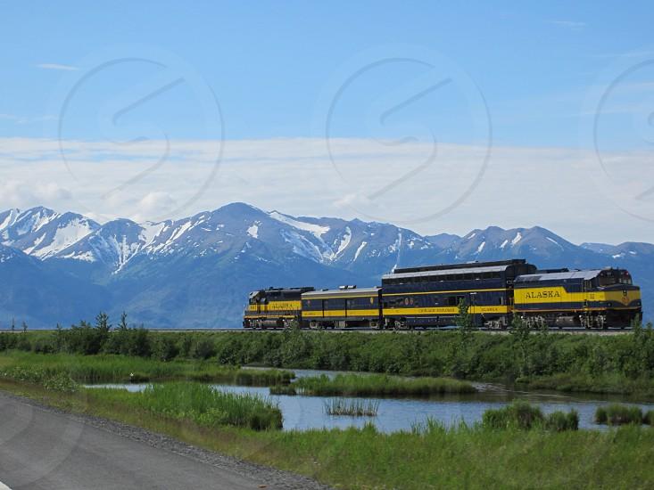 Alaska Train photo