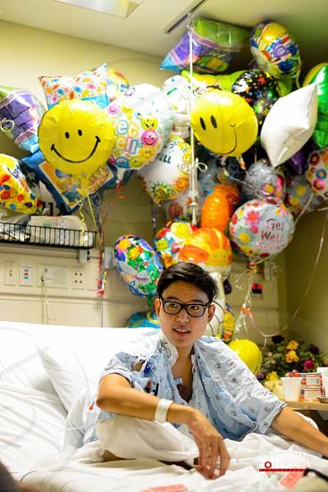 Hospital sickness terminal balloons  photo