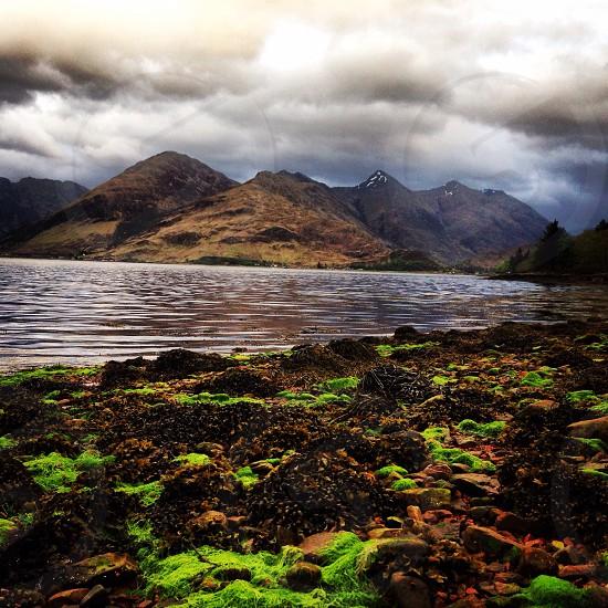 Loch Duich Highlands Scotland  photo