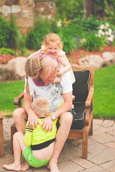 Family fun photo