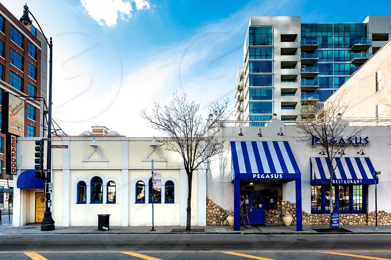 The streets of greektown are littered with great places to eat amazing food.  photo