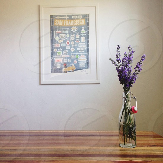 san francisco framed poster photo