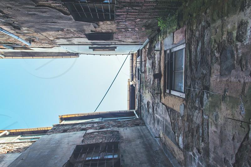 brown concrete building photo