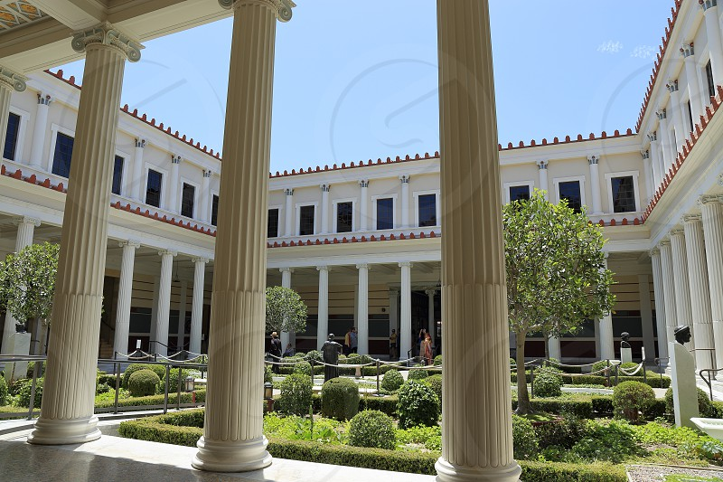 Getty Villa at Malibu California photo